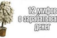 12 Міфів про заробляння грошей
