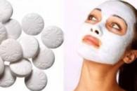 Аспіринова маска для обличчя