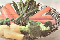 Асорті зі свіжих овочів на пару