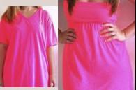 Як зробити плаття з футболки