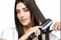 Як випрямити волосся праскою