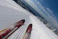 Катання на гірських лижах - як вибрати лижі для початківців?
