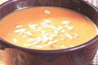 Крем-суп з гарбуза з мигдалем