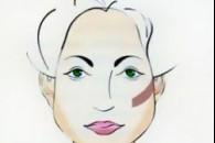 Макіяж, зачіска, аксесуари для трапецієподібної форми обличчя