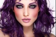 Макіяж у фіолетовому кольорі