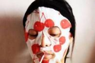Маска для обличчя з черешні