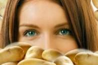 Маска для обличчя з картоплі