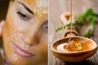 Маска для обличчя з меду