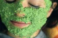Маска для обличчя з петрушки