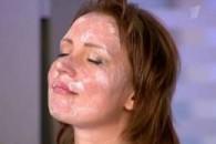 Маска для обличчя з кислого
