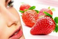 Маска з полуниці від прищів