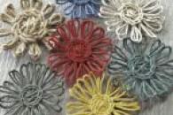 Майстер клас: як зробити оригінальні квіти з ниток своїми руками