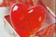 """Мило з прозорої основи """"серце"""""""