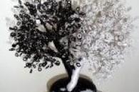 Освоюємо бісероплетіння дерева інь янь