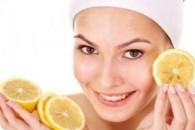 Відбілююча маска для обличчя з лимоном