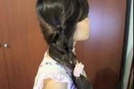 Зачіска з хвостів
