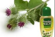 Реп'яхову олію для волосся та обличчя