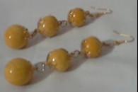 Сережки-кульки з полімерної глини. Майстер клас