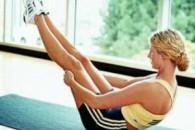 Вправи калланетики для живота і стегон