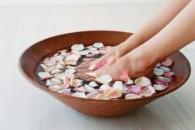 Ванночки для ніг в домашніх умовах