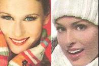 Варіанти зимового макіяжу з фото та описом