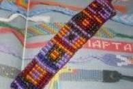 Види і способи плетіння фенечек з бісеру