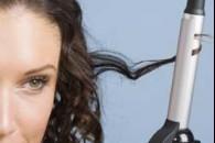 Завивка волосся електрощіпци